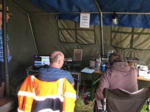 G0LGS (left) and 2E0MDJ working 6m.