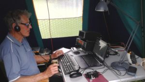 M0NQN operating G5BK/P in HF CW NFD.
